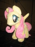 Fluttershy #1 by ManlyStitches
