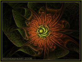 Orange and Green by MothersHeart