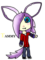 For BWolf909: Chibi Tammy (Adventure Time FC) by DarkerHours