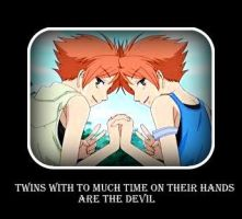 Hikaru and Kaoru Hitachiin: The Troublesome Twins by AnimeMusic333