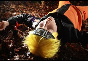 Naruto Shippuuden: Happy Exhausted After Training by iigo-tomo-e