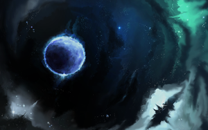 Icy planet by Nakubi