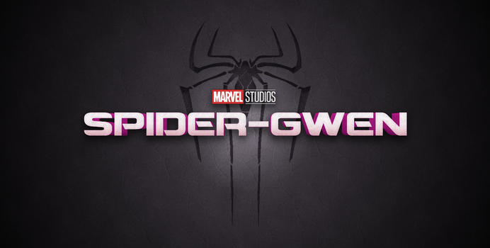 Spider-Gwen Movie Logo V1 by AngelbfxD