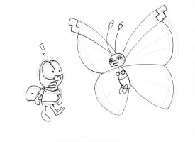 WIP Zipper meets Vivillon by ZeFrenchM