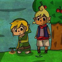 AT:  The world of Animal crossing  by TeLinkfan1