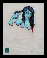 zombie suicide by absfontaine