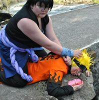 Death of Naruto by AniCosOfficial