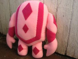 Guild Wars 2 Pink Day Golem by greenchylde