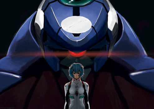 NGE: Ayanami Rei by fengsong
