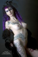 GOTHIC BEAUTY 03 by ChrisM-Erotic