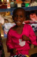 girl in african market by thecheeseitscold