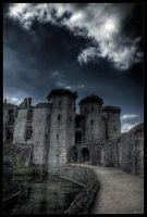 Castle of white dragon by zardo