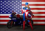 The American Dream (girl) by Nostalgia-Guy