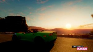 Sunset in the Vette by pl3th0ra