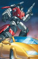 Autobot twins night by cgrapa
