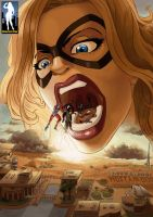 Ms. Marvel Vore by giantess-fan-comics