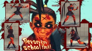 berserker school ibuki by Siegfried129