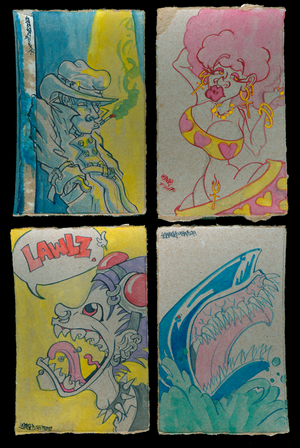 Pop Tart Paintings
