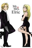 Mr and Mrs Elric by ManeaOana