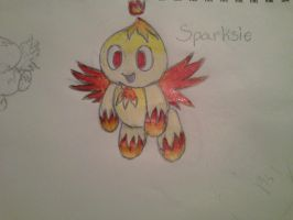 Sparksie the Chou by Rainwater12