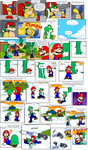 Super Mario Bros. page 52 by Nintendrawer