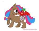 Blossom's new pet by CaveLupa
