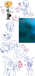 I Dont Know Sketchdump by ArrancarGirl6464