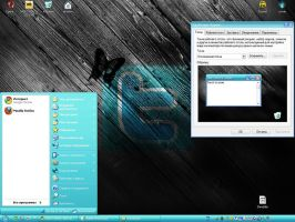 Theme'twitter v.2' for XP by tochpcru
