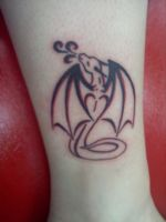 Dragon Tattoo by ThePsychoticCupcake