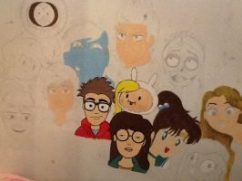 My Wall Is Amazing WIP by isamadworld52