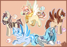 Ponies - Offer to adopt - Closed by Mousu
