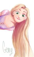 Rapunzel by Chtitexxpeste