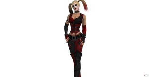 Harley meet Batman BAC pose by Hatredboy