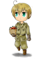 E. WA- WW2 Chibi Color by anotakuami