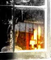 Candle in the Window by spidermonkeykiss