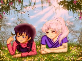 SessKag: Summer Days by IceMaidenChiyoe