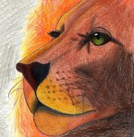 The Great Aslan... by LinaPrime