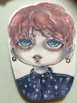 Bts Jungkook Wings-Chibi : by MadameLeDerps