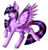 Twilight Sparkle .:COLLAB:. by Miss-Symph-0x0