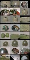 US M-1 Helmets WW2 to 1980s and Other Helmets by nicholasweed
