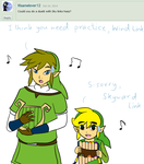 Ask Skyward Link and Wind Link 312 by LinkofSkyWind