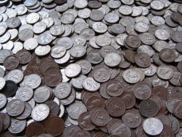 Coins 2 by Hjoranna