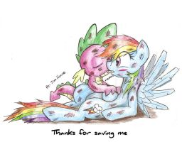 Thanks For Saving Me by JcosNeverExisted