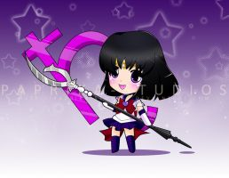 Chibi Sailor Saturn by Paprika-Studios