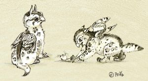 2bengal Griffin Chicks by Reptangle