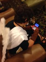 Kid Icarus Uprising: Free Time by StellaStarfish