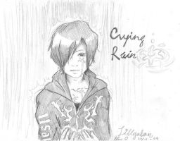 Crying Rain Scetch by Lillgoban