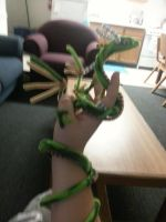Pipecleaner Dragon by Morgan-Michele