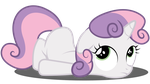 Sweetie Belle ~ Meh by TechRainbow