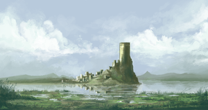 Lake Fort by Kubeen